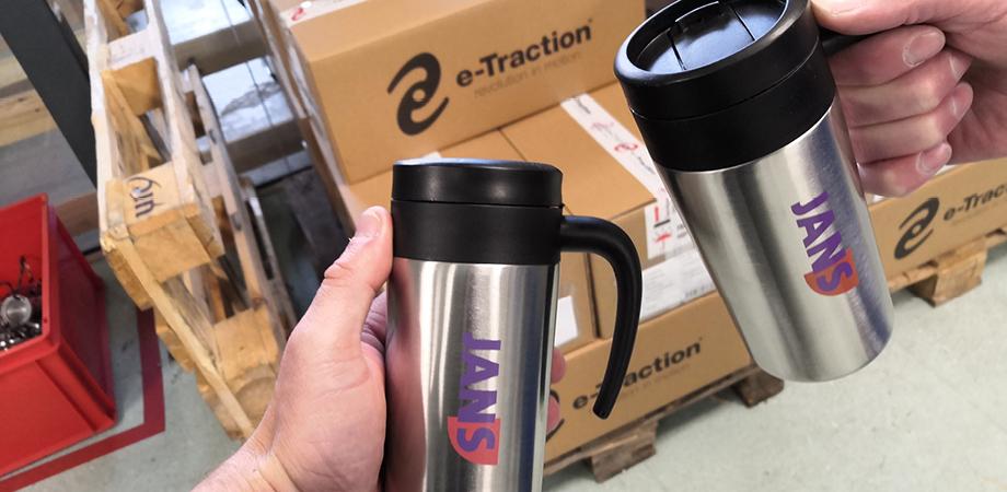 Op de koffie bij E-traction